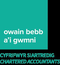 Owain Bebb a'i Gwmni Logo